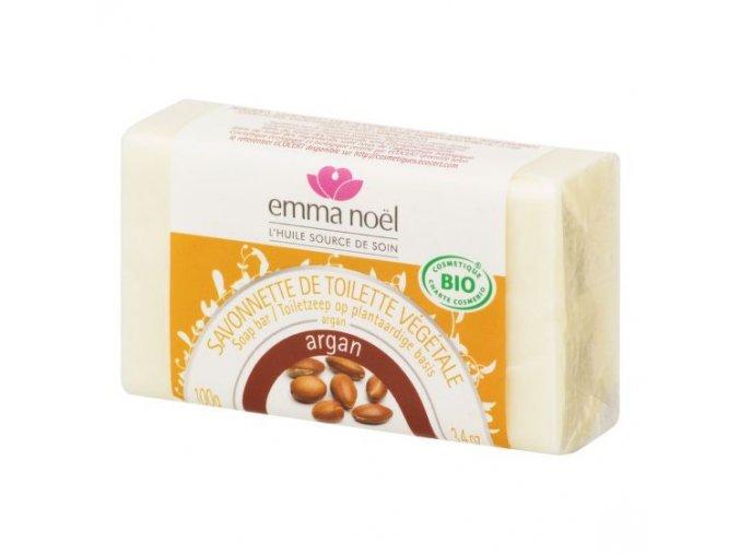 Emma Noël Mýdlo rostlinné argan 100 g BIO