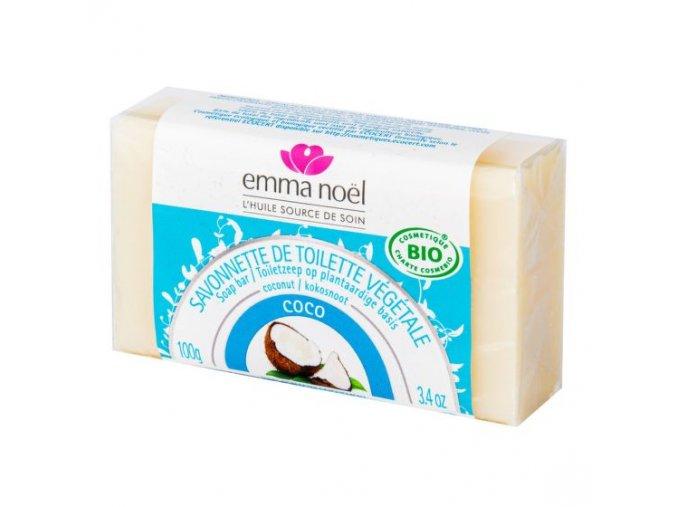 Emma Noël Mýdlo rostlinné kokos BIO 100 g