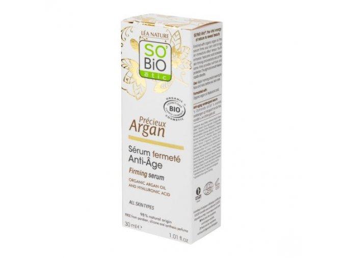 SO´BiO étic Sérum zpevňující BIO Anti-Age Precieux Argan 30 ml