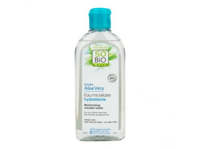 SO´BIO étic Voda micelární Aloe vera hydratační 200 ml BIO