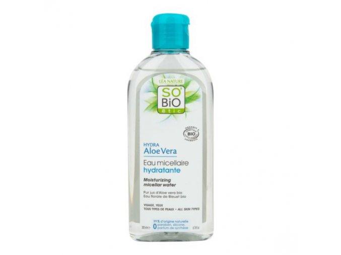 SO´BiO étic Voda micelární Aloe vera hydratační BIO 200 ml