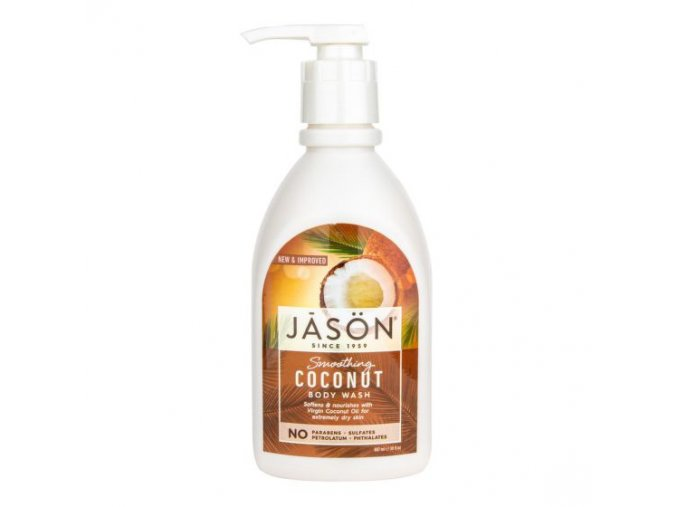 Jason Gel sprchový s kokosovým olejem 887 ml