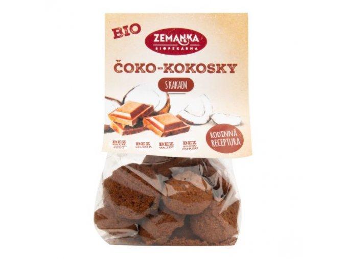 Zemanka Čoko kokosky s kakaem BIO 100 g