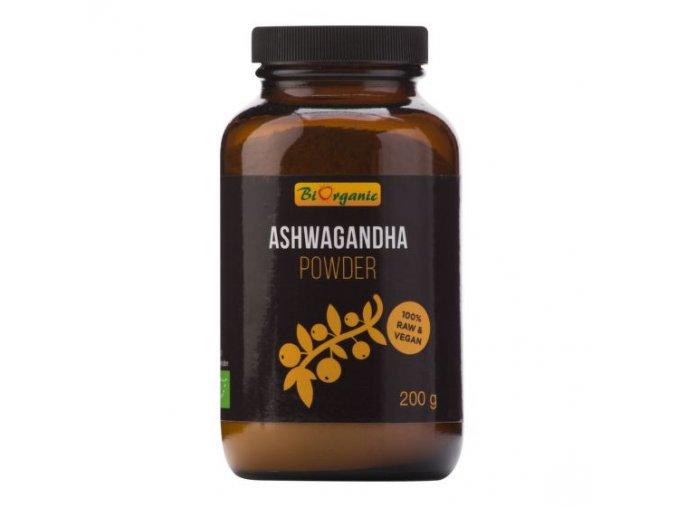 Biorganic Ashwagandha prášek BIO 200 g