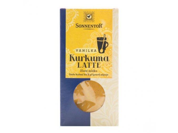 Sonnentor Kurkuma latte vanilka BIO 60 g