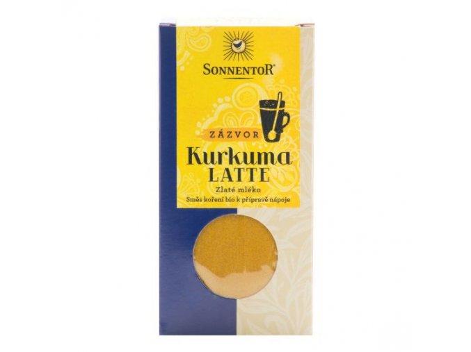Sonnentor Kurkuma latte zázvor BIO 60 g