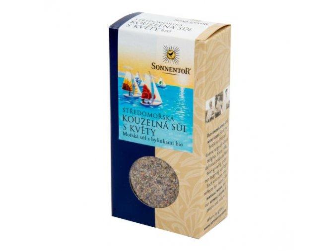 Sonnentor Středomořská kouzelná sůl s květy BIO 120 g