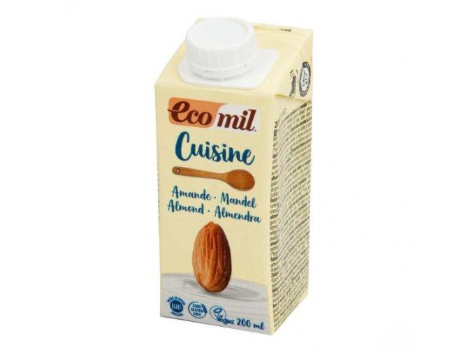 ECOMIL Mandlová alternativa smetany BIO 200 ml