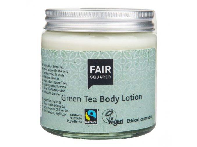 Fair Squared Mléko tělové zelený čaj 100 ml ZWP