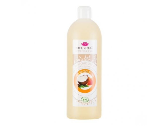 EMMA NOËL Šampon na tělo a vlasy med-kokos BIO 1 l