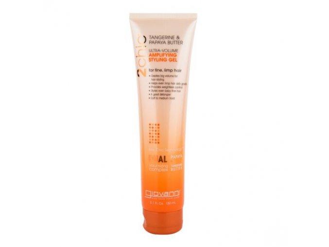 Giovanni Tužidlo gelové pro jemné vlasy tangerine&papaja 150 ml