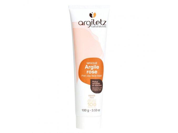 Argiletz Maska pleťová pro citlivou pleť růžový jíl 100 g