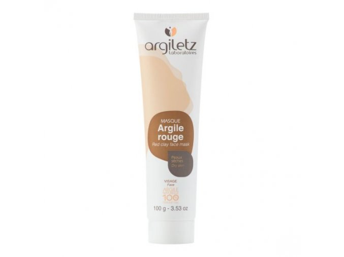 Argiletz Maska pleťová pro suchou pleť červený jíl 100 g