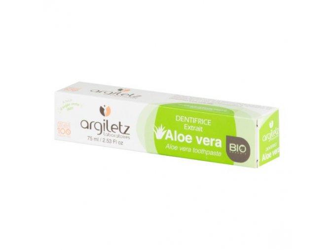 Argiletz Zubní pasta se zeleným jílem Aloe Vera 75 g BIO