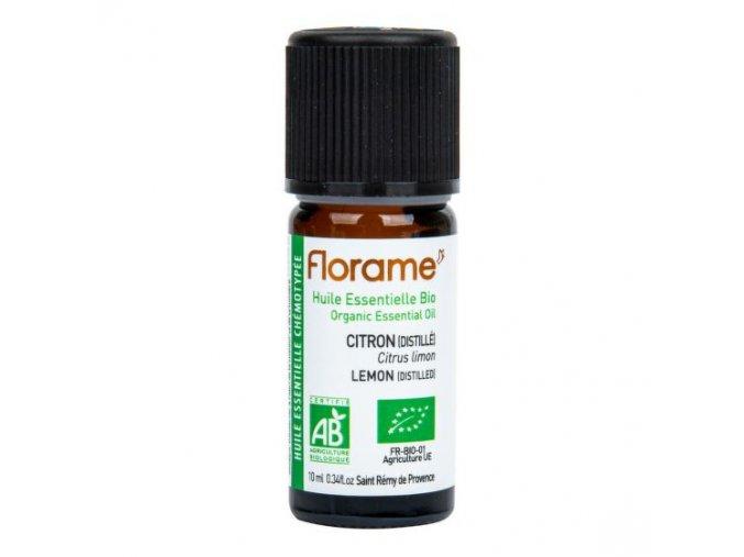 Florame Éterický olej citron destilovaný BIO 10 ml