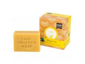 Fair Squared Šampon tuhý na mytí vlasů – karité pro suché vlasy 2x80g