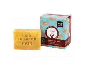 Fair Squared Šampon tuhý na mytí vlasů – kokosový pro mastné vlasy 2x80 g