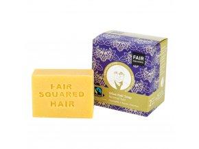 Fair Squared Šampon tuhý na mytí vlasů – olivový pro normální vlasy 2x80g
