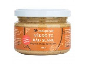 Nutspread Krém Někdo to rád slané 250 g