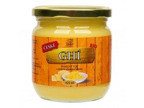 DNM Company Přepuštěné máslo GHI BIO 425 ml