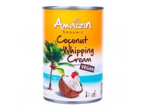 Amaizin Kokosová alternativa smetany ke šlehání 30 % tuku BIO 400 ml