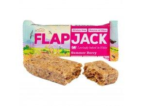 Wholebake Flapjack ovesný malina-jahoda bezlepkový 80 g