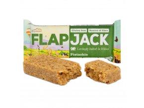 Wholebake Flapjack ovesný pistácie bezlepkový 80 g