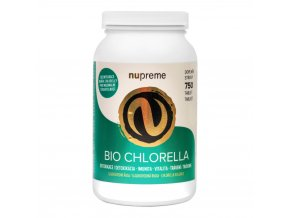 Nupreme Chlorella 750 tablet BIO 150 g