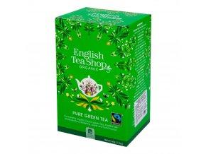 English Tea Shop Čaj Zelený fair trade BIO sáčky 20 Ks
