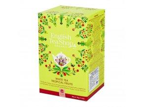 English Tea Shop Čaj Bílý s tropickým ovocem 20 sáčků BIO