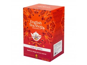 English Tea Shop Čaj Červená řepa se zázvorem a kari 20 sáčků BIO
