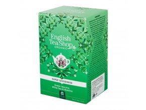 English Tea Shop Čaj Sencha, Bílý čaj a Matcha BIO sáčky 20 Ks