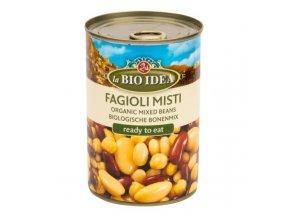 Bio idea Fazole mix sterilované BIO 400 g