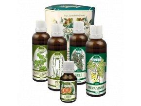 doplnek z bylin jako podpora hormonalnich funkci krevniho a lymfatickeho obehu