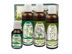 doplnek z bylin ke zlepseni telesne a dusevni pohody a kvality spanku