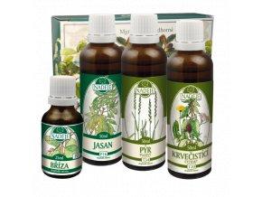 doplnek z bylin jako pomoc pri detoxikaci a regeneraci organismu