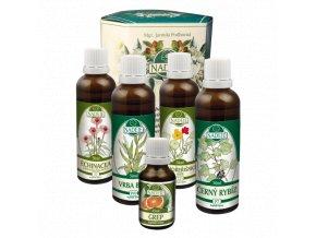 doplnek z bylin pro podporu organismu s protiparazitalnimi ucinky