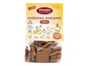 Zemanka Zvířátka špaldová kakaová BIO 100 g
