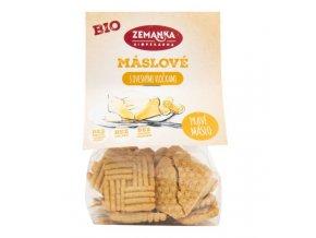 Zemanka Sušenky máslové s ovesnými vločkami 100 g BIO