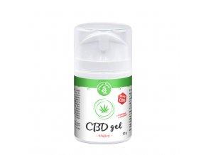 CBD hřejivý gel