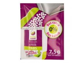 Natusweet Sladidlo ze stévie 125 tablet 7,5 g