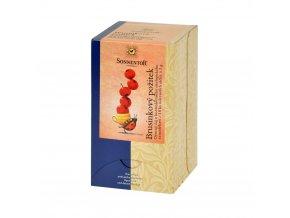 Čaj Brusinkový požitek 50,4 g BIO SONNENTOR