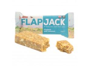 Flapjack ovesný kešu kokos bezlepkový 80 g WHOLEBAKE