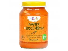 Příkrm mrkev 190 g BIO COUNTRY LIFE
