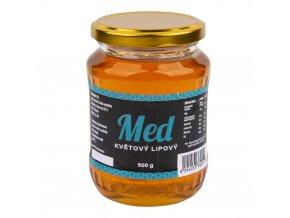 Číhala Med květový lipový 500 g