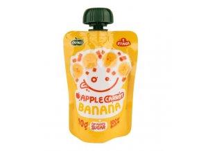 Ovko Příkrm jablko, mrkev, banán BIO 90 g