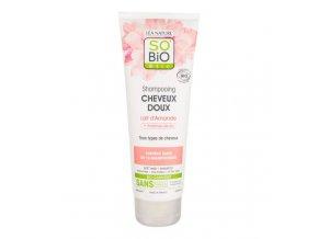 SO´BiO étic Šampon jemný s mandlovým mlékem a rýžovým proteinem BIO 250 ml
