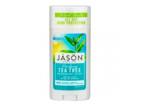 Jason Deodorant tuhý tea tree 71 g