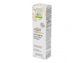 SO´BiO étic Krém na okolí očí a rtů 15 ml BIO Anti-Age Precieux Argan