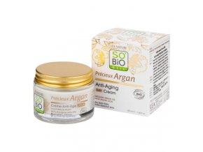 SO´BiO étic Krém denní BIO Anti-age Precieux Argan 50 ml